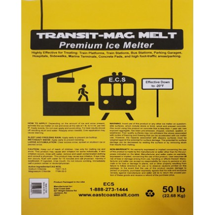 TRANSIT-MAG MELT – 50LB BAGS